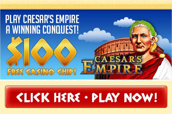 $100 Free Prism Caesar's Empire