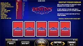 Destiny Poker