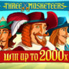 Three Musketeers Slot Red Tiger